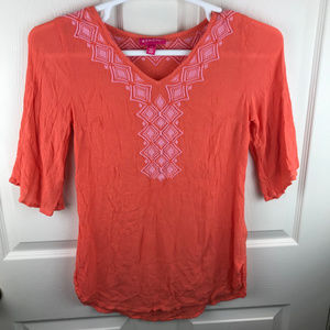 Lilly Pulitzer Target Swim Cover Up Orange Small